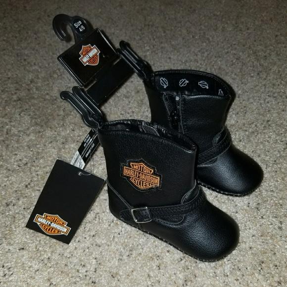 Baby Harley Davidson Boots | Poshmark